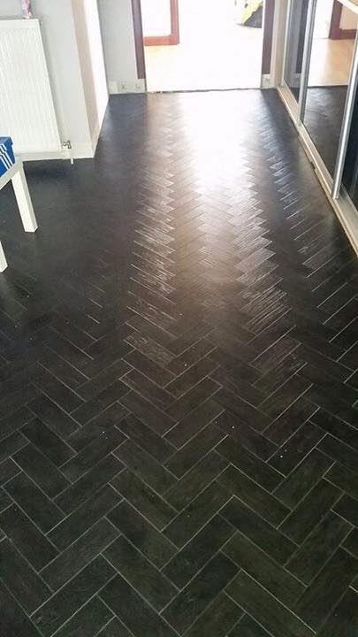 Black Oak Parquet Lvt Flooring Glasgow